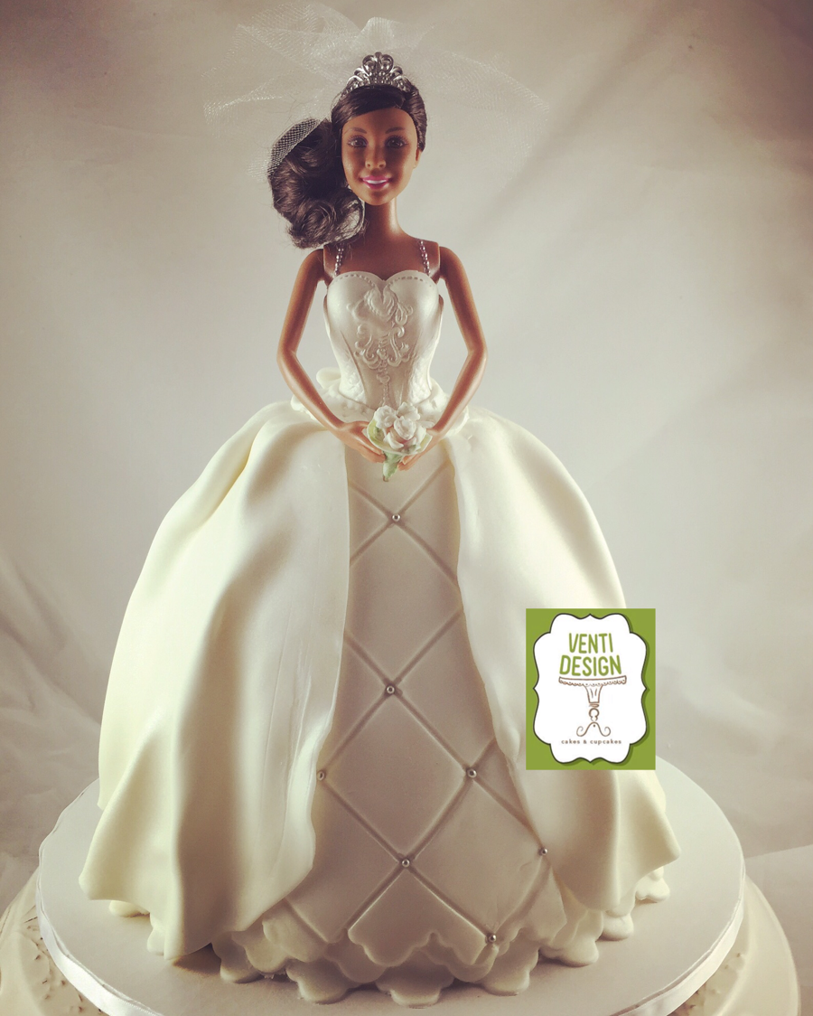 doll wedding cake doll cake cakecentral 13693