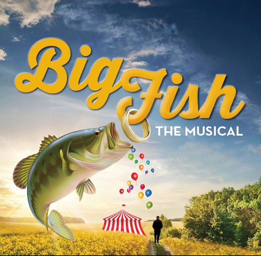 Big fish cast cake for Big fish characters