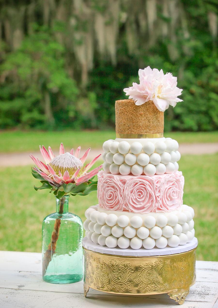 Cake Ball Wedding Cake Cakecentral Com