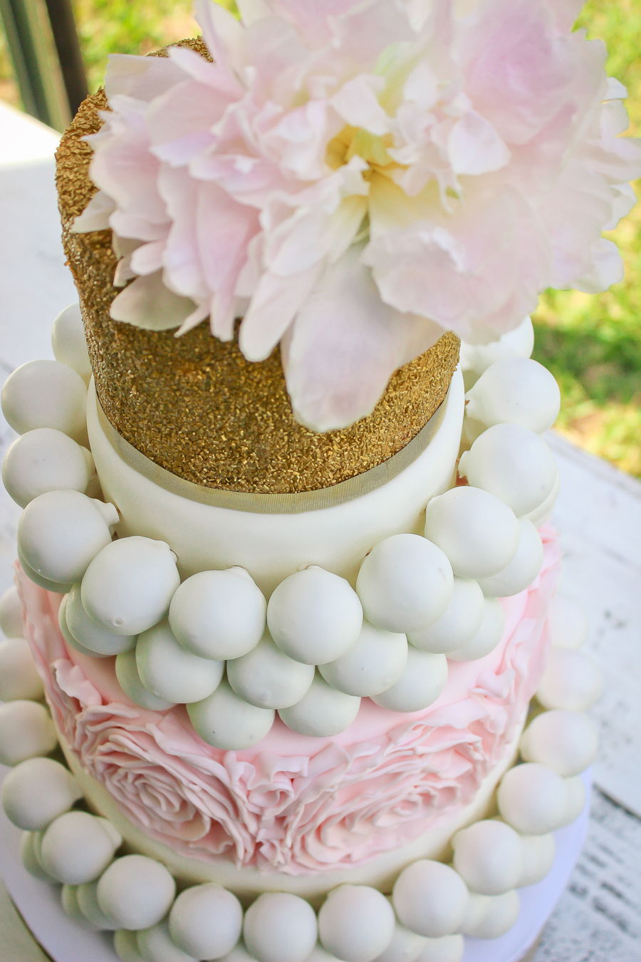 Cake Ball Wedding Cake Cakecentral Com