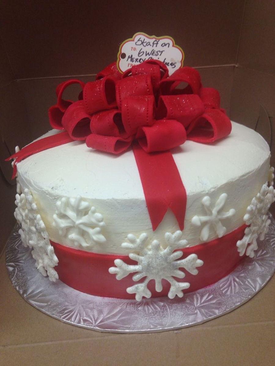 Christmas Cake - CakeCentral.com