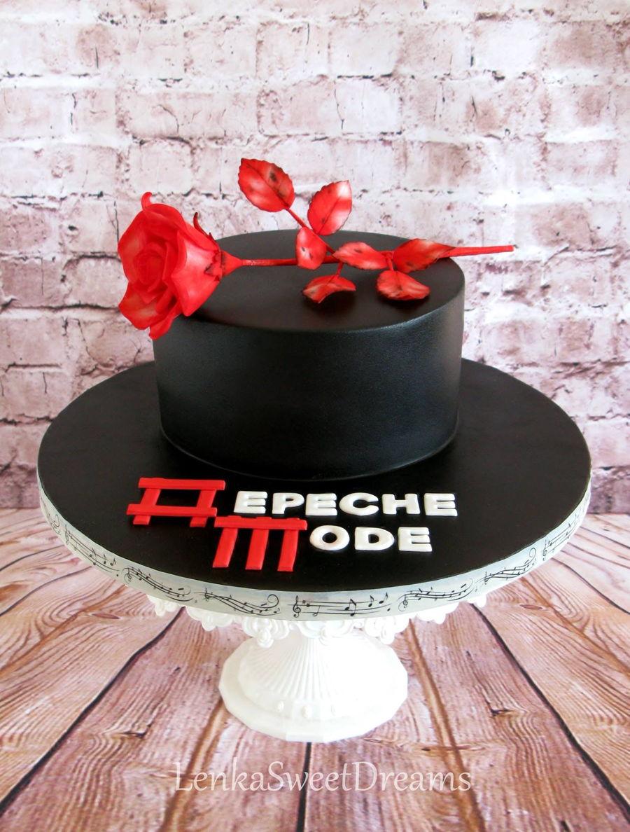 Depeche Mode Cake Cakecentral Com