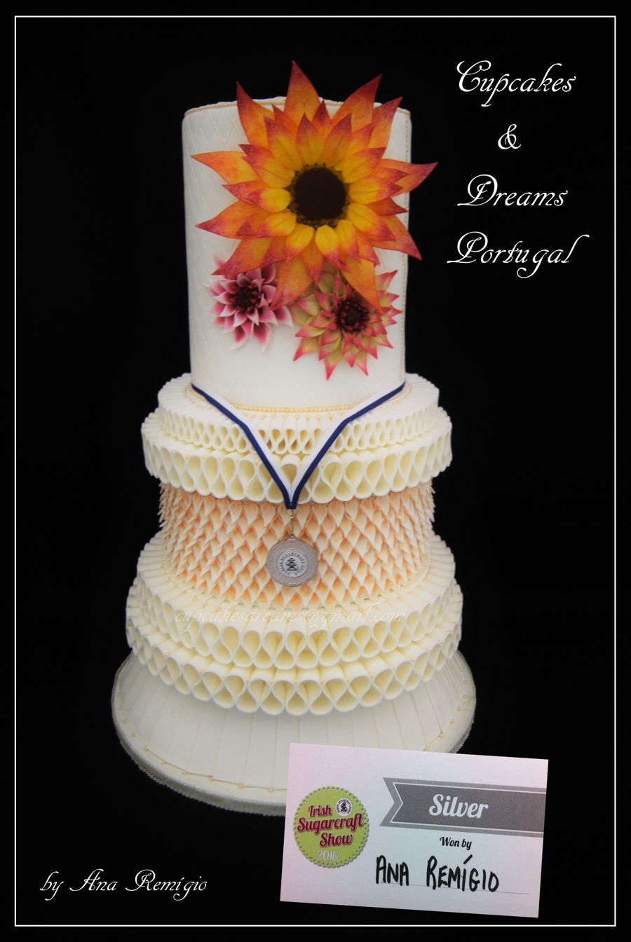 Irish Cake Decorating And Sugarcraft Chat : Dublin Wedding Cake - Irish Sugarcraft Show Competition ...