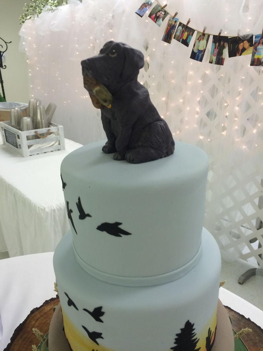Duck Grooms Cake Topper