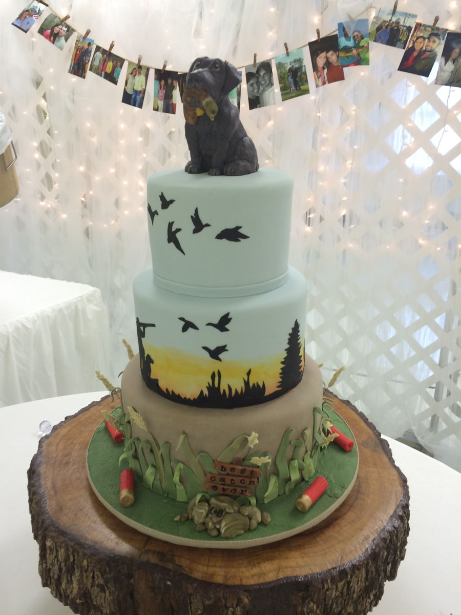 Chocolate Grooms Cake Pictures