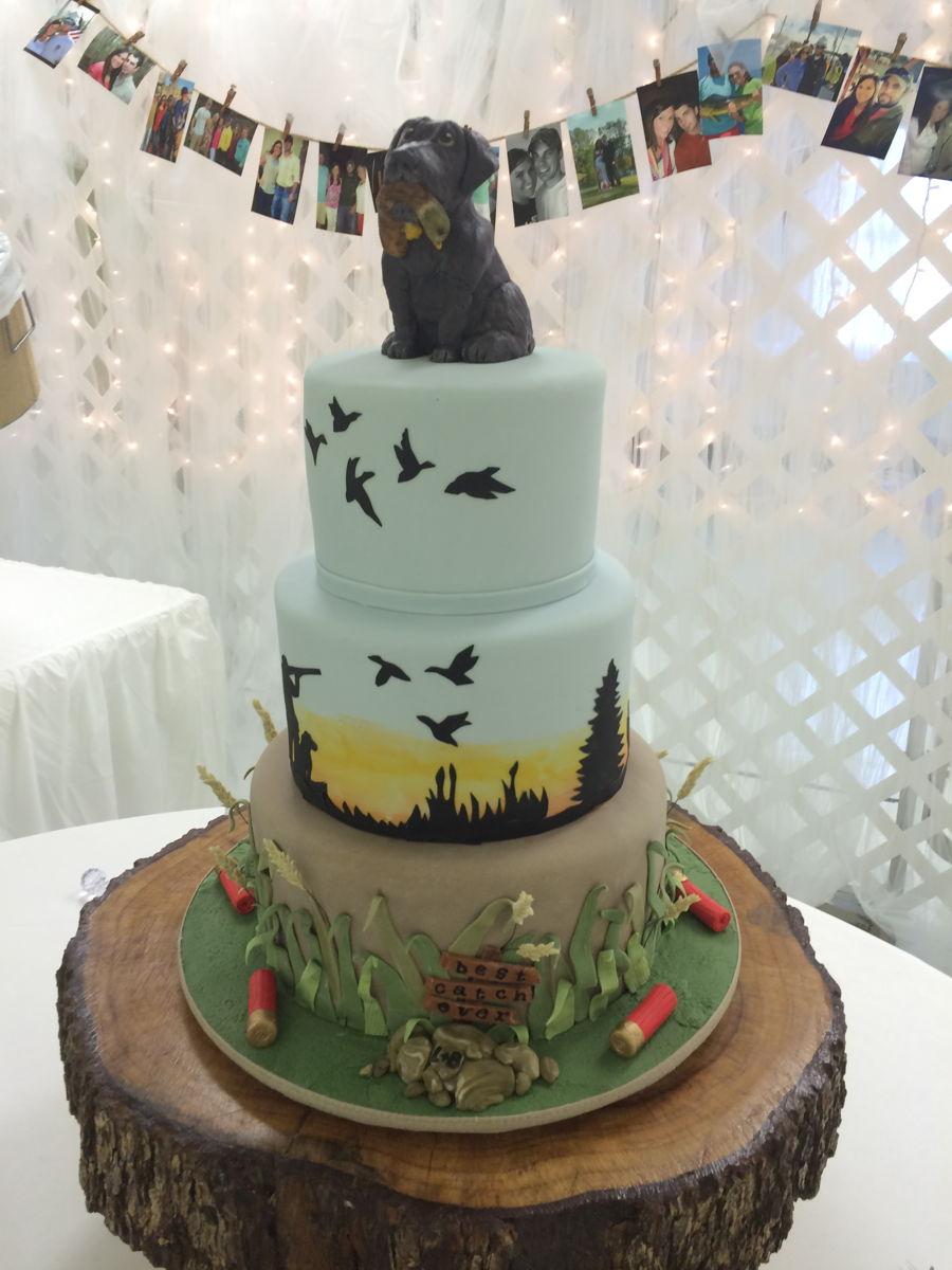 Duck Wedding Cake Topper