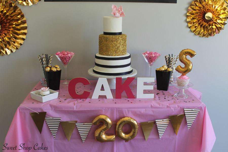 Elegant Birthday Cake Cakecentral