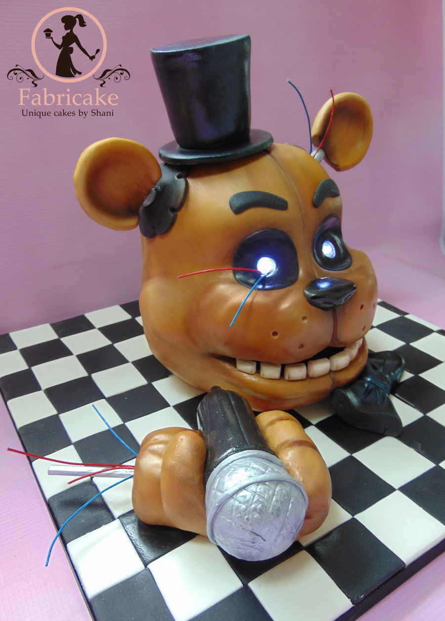 Five Nights At Freddy S Cake