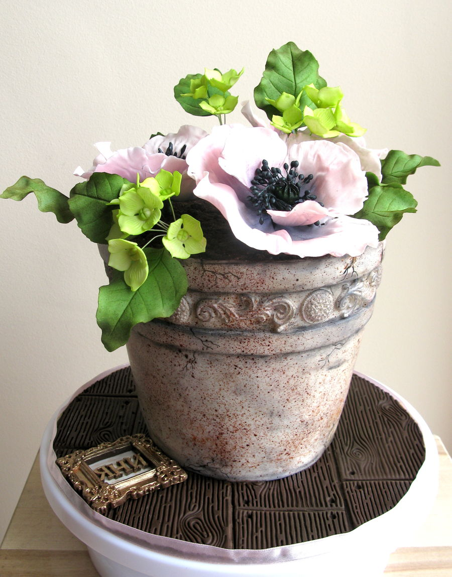 Flower Pot Birthday Cake Recipe