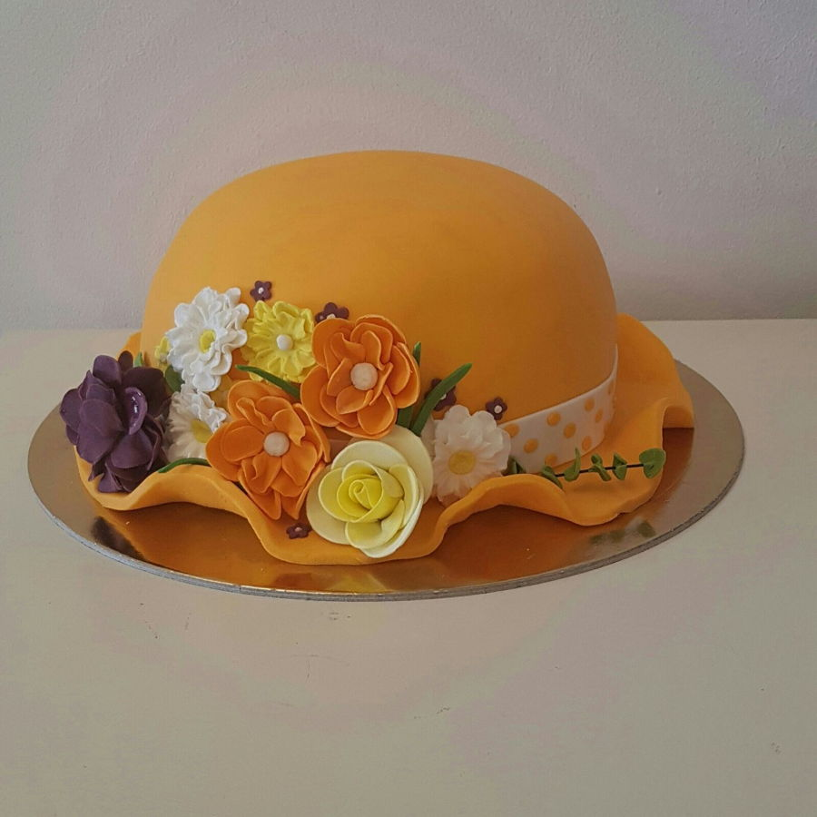 How To Make A Lady Hat Cake