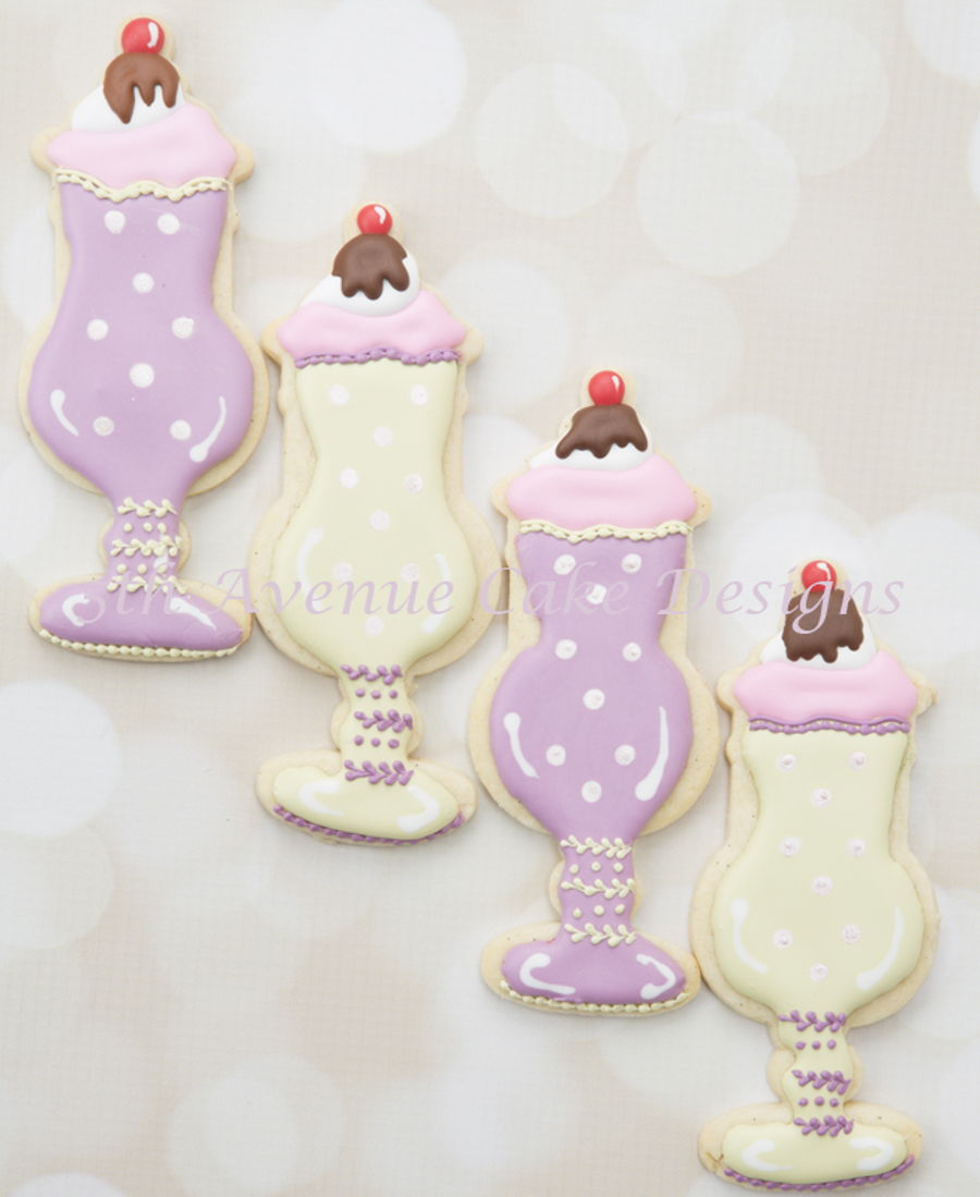 Ice Cream Sundae Cookies on Cake Central