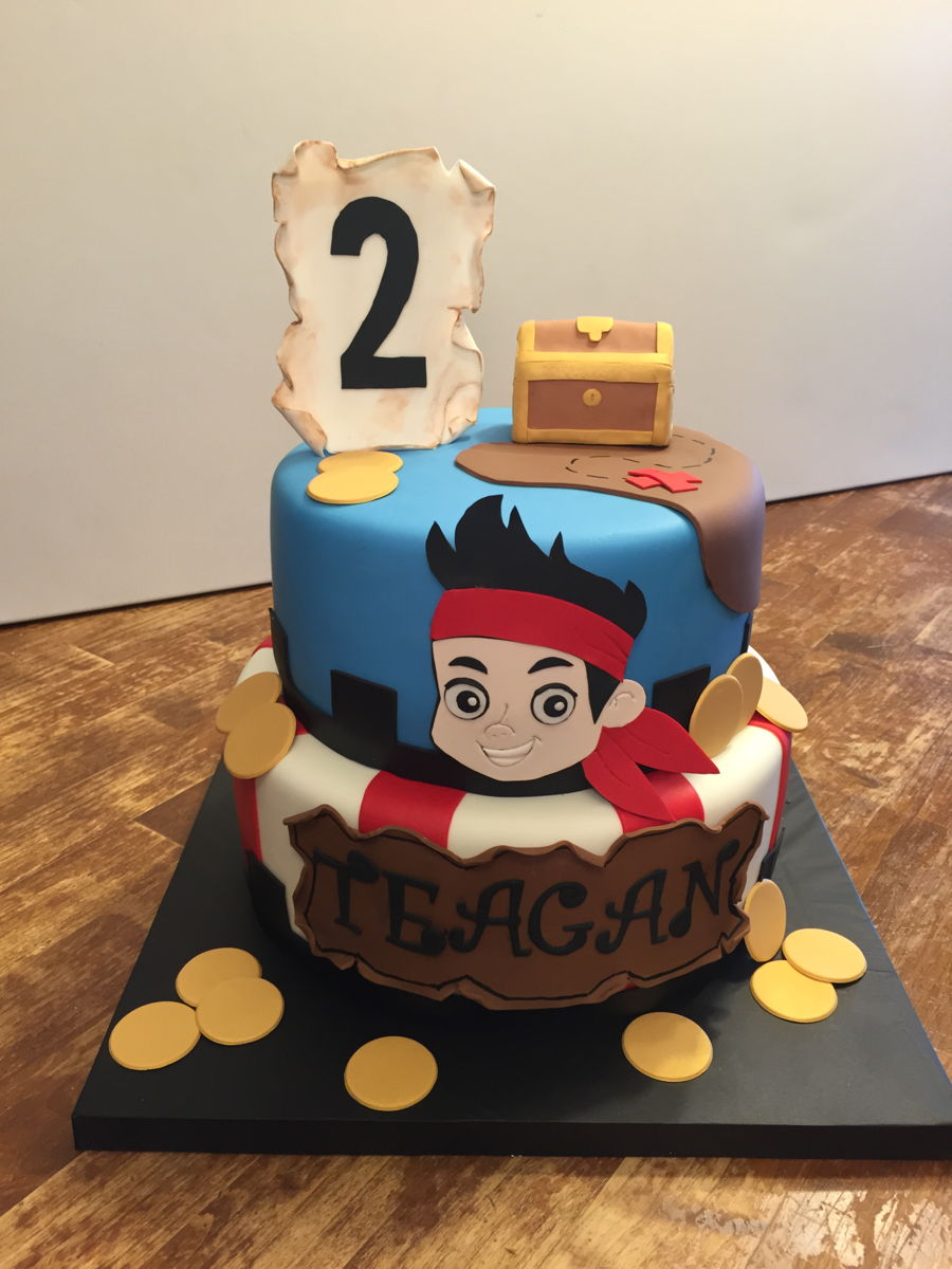 Jake And The Neverland Pirate Cake on Cake Central