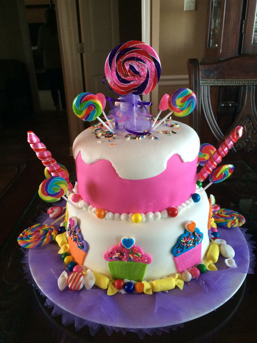 Katy Perry Candy Land Cakecentral Com