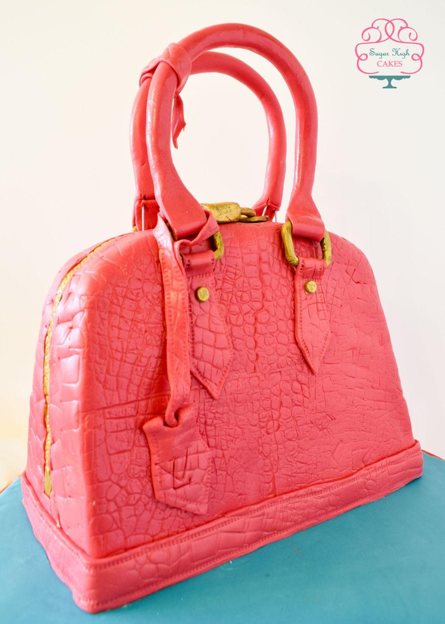 Louis Vuitton Handbag Cake Cakecentral Com
