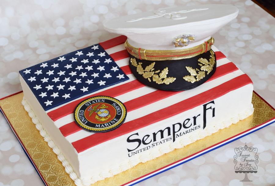 Marine Corps Cake Designs