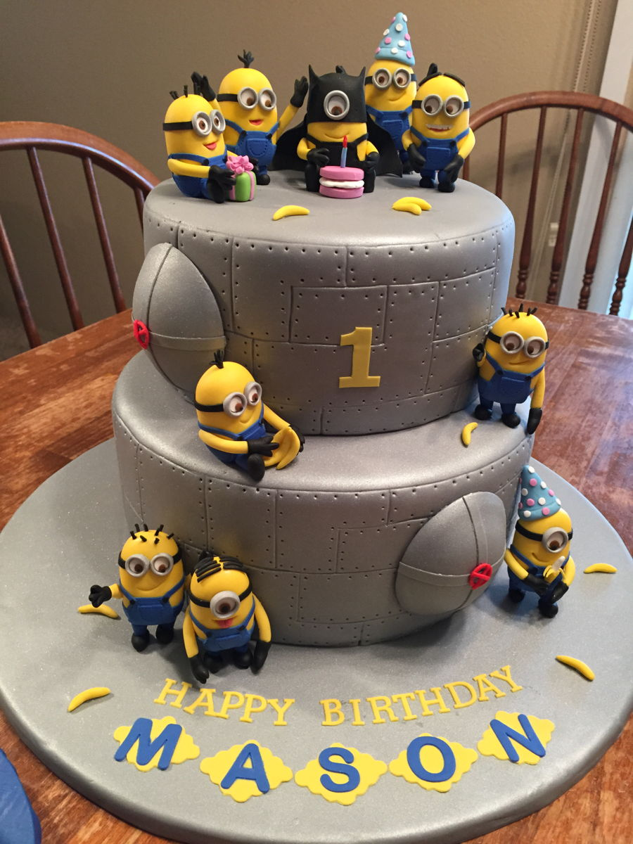 Awe Inspiring Minion Birthday Cake Cakecentral Com Funny Birthday Cards Online Barepcheapnameinfo