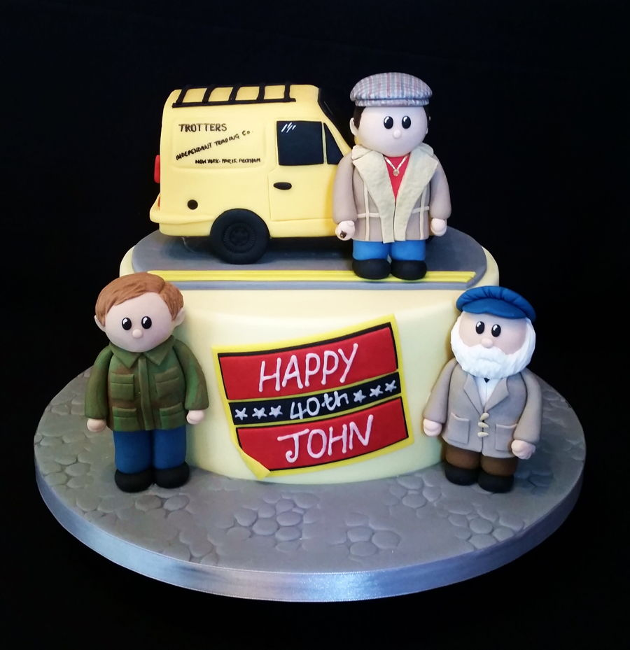 Only Fools And Horses Birthday Cake Cakecentral Com
