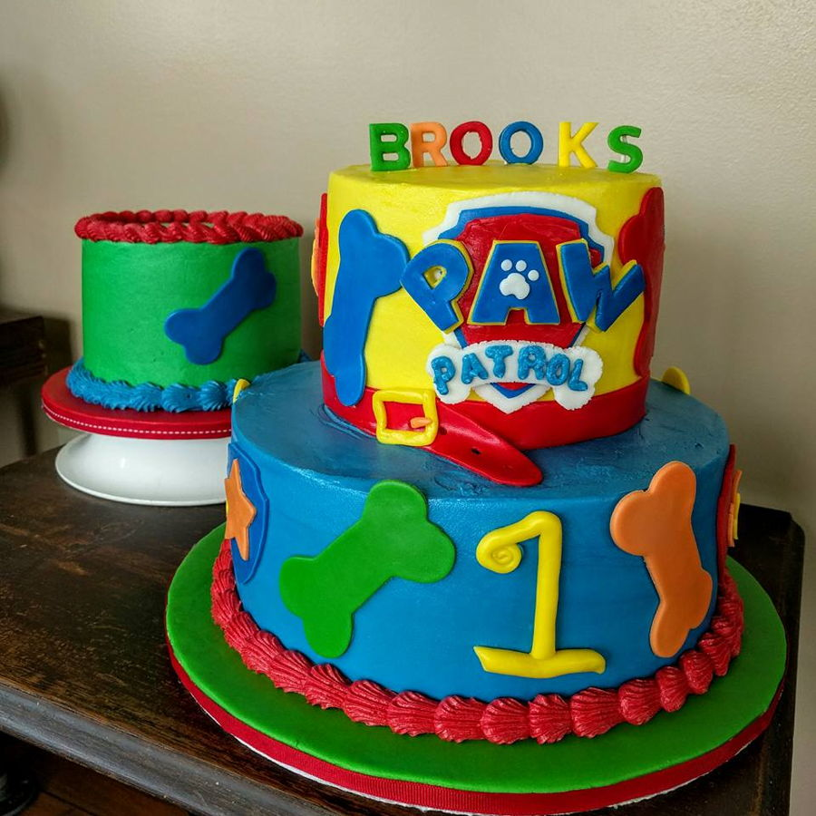 Paw Patrol Birthday And Smash Cake Cakecentral Com