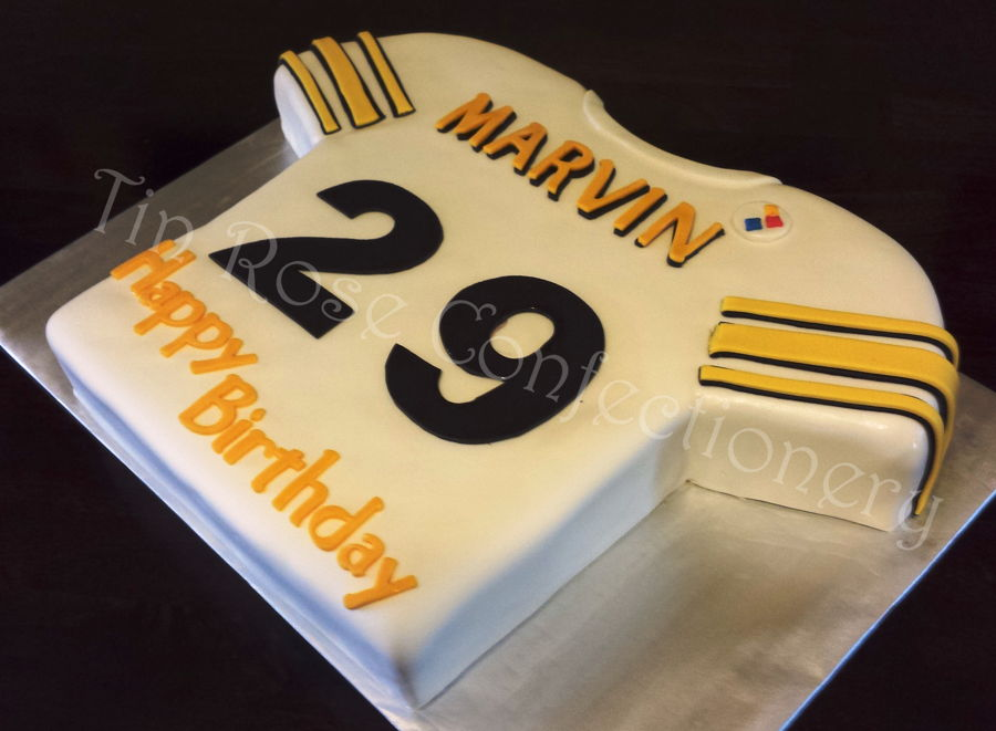Pittsburgh Steelers Jersey Cake Cakecentral Com