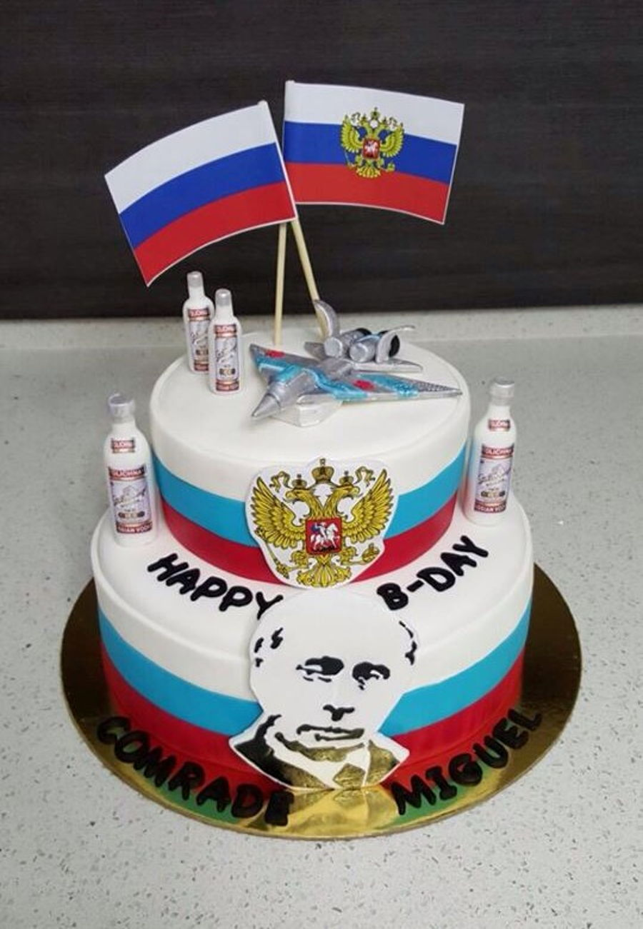 Russian Themed Cake Cakecentral Com