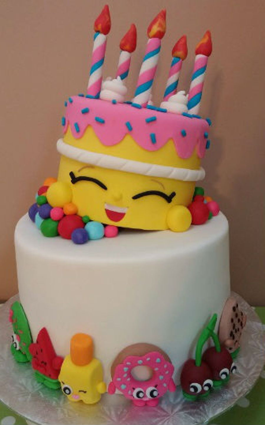 Cake Decorating How Many Issues : Shopkins Cake Tutorial! - CakeCentral.com
