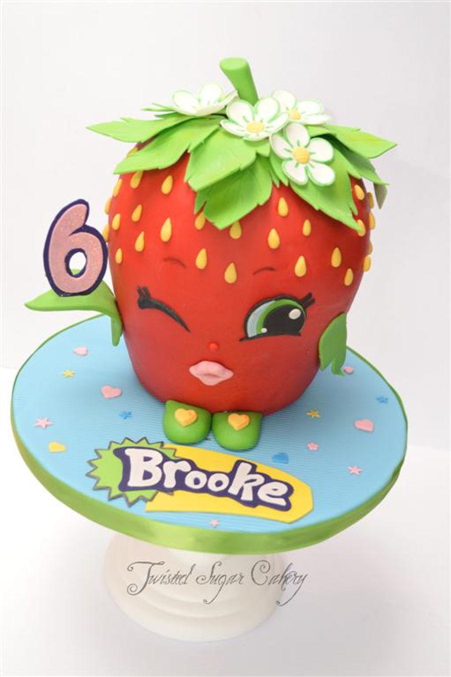 Shopkins Strawberry Cake