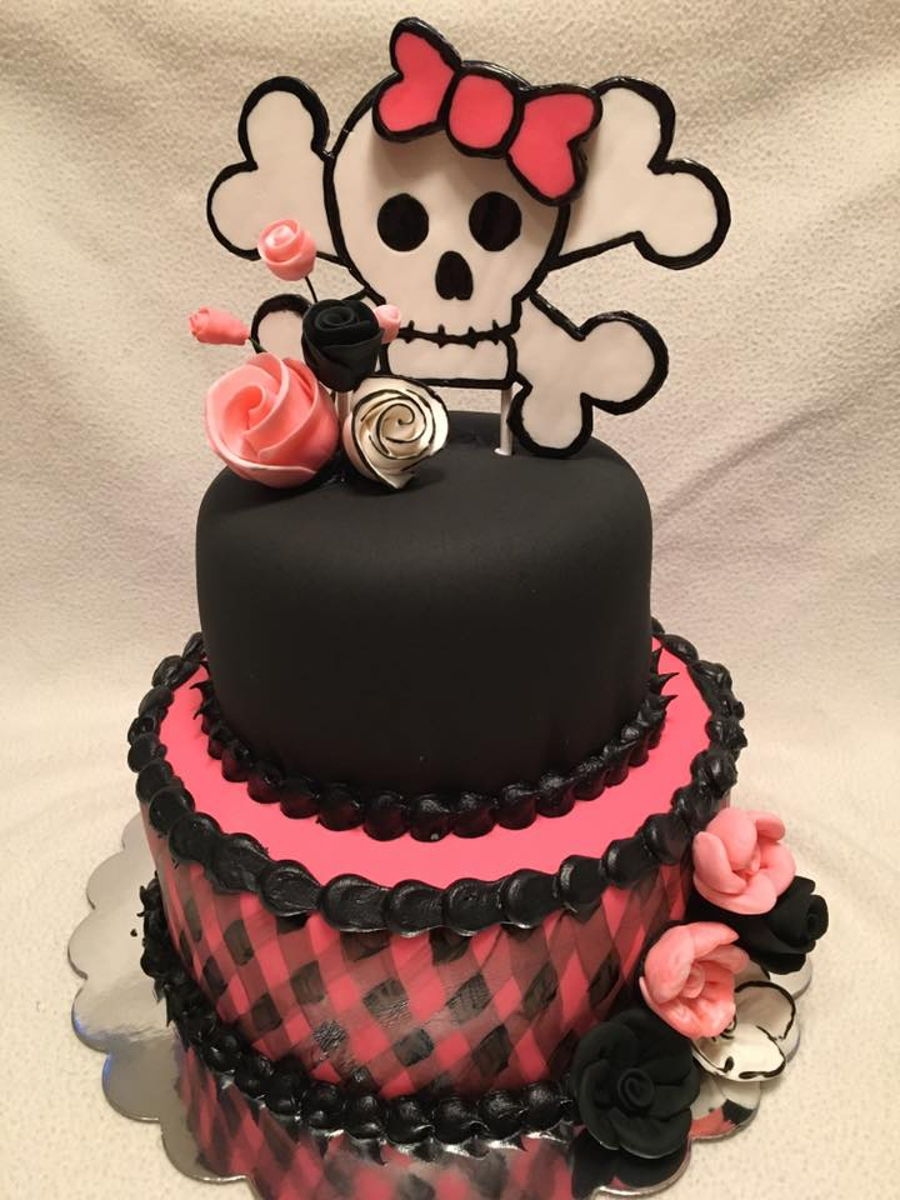 Skull And Crossbones Cake Recipe