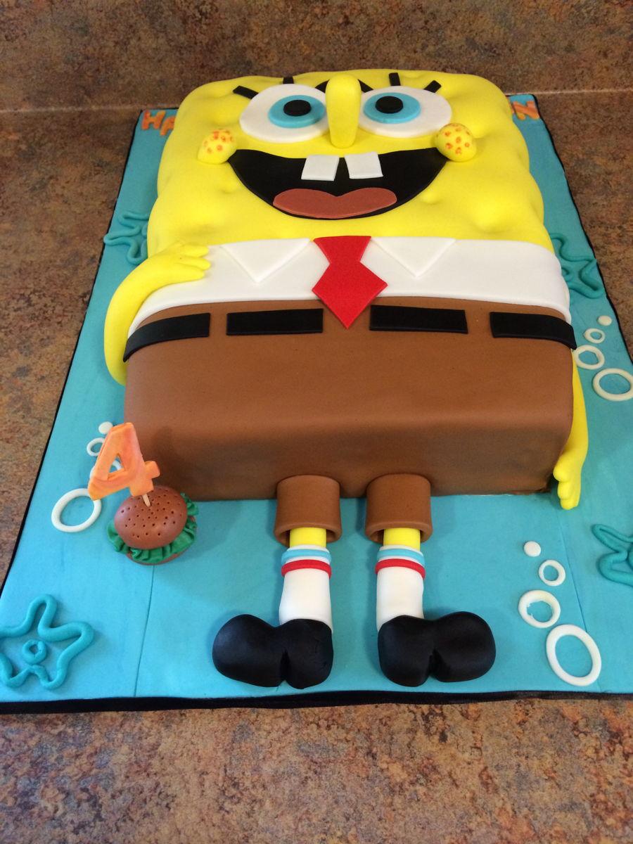Spongebob Cake Cakecentral Com