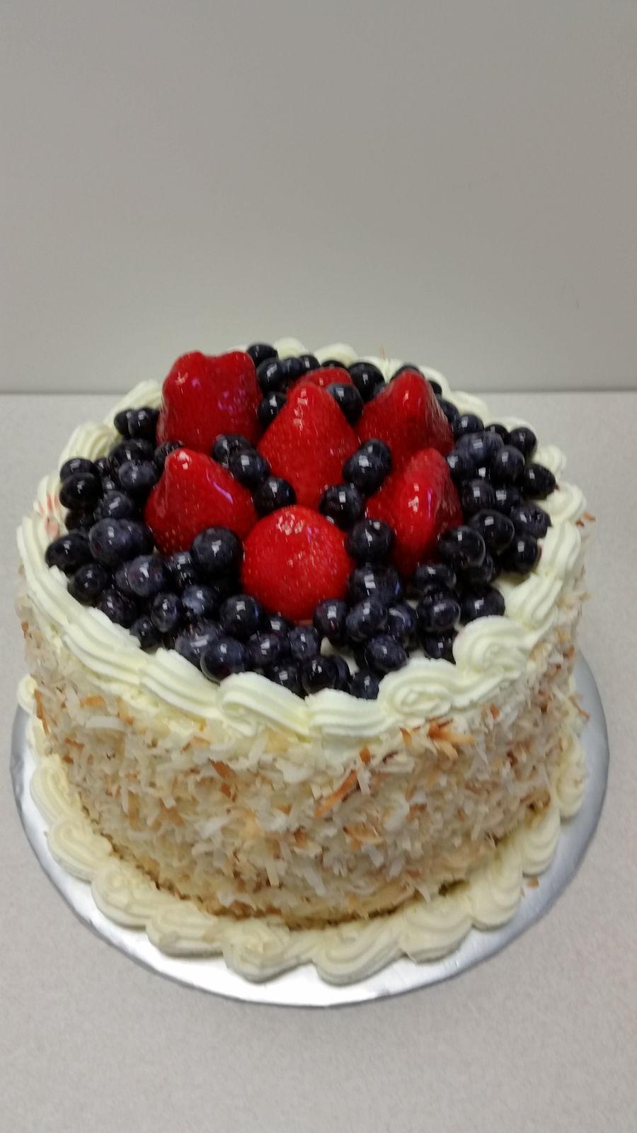 Strawberry Blueberry Cake - CakeCentral.com