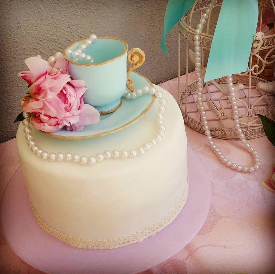 Tea Party Cake on Cake Central