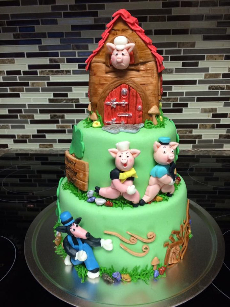 Three Little Pigs on Cake Central