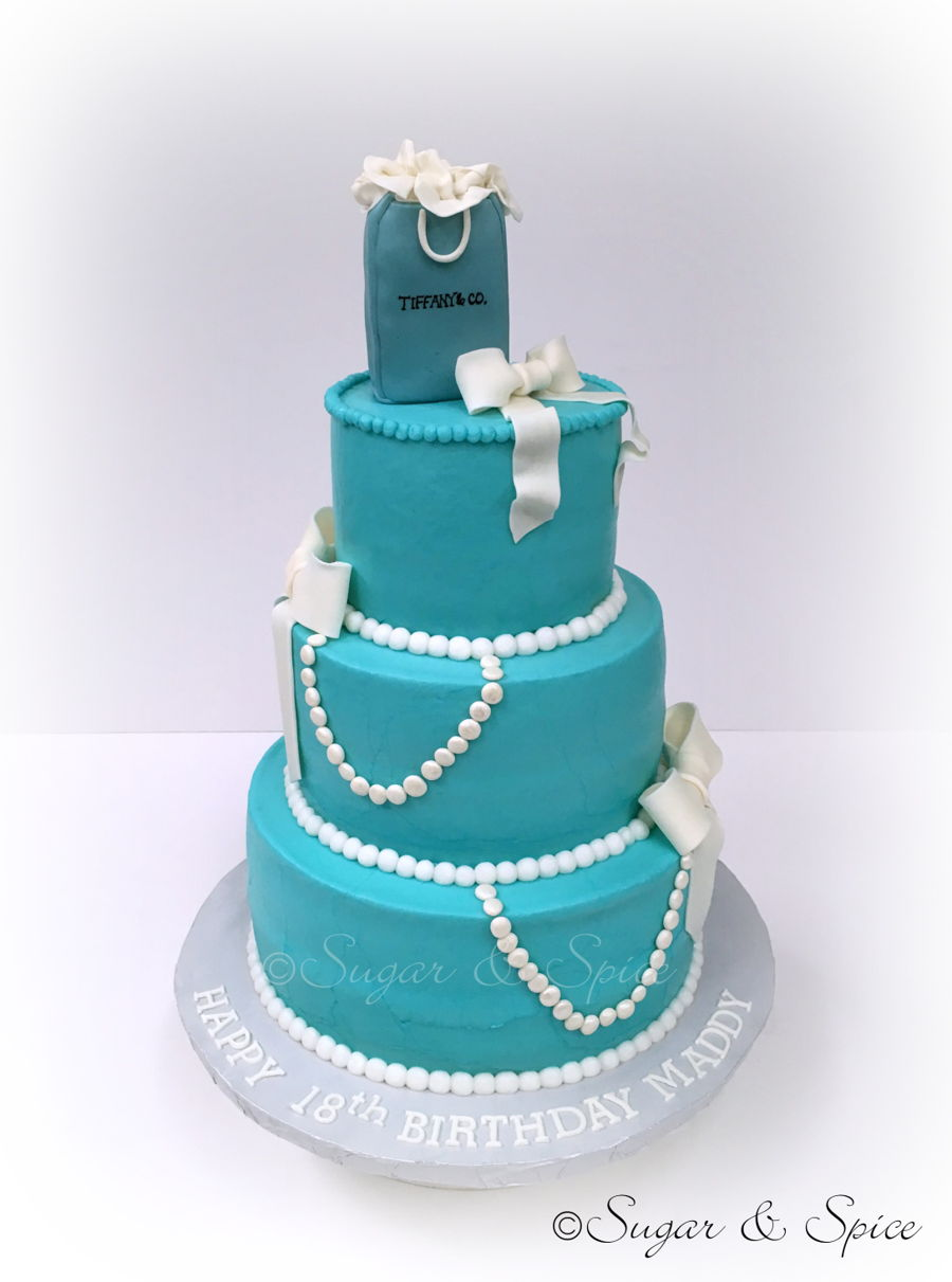 Tiffany Inspired Birthday Cake Cakecentral Com