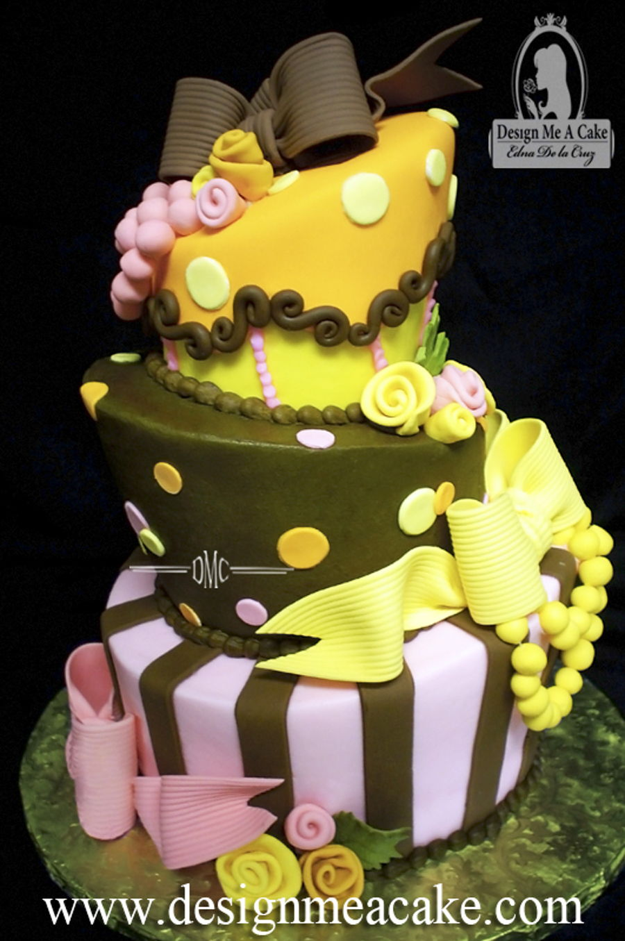 Topsy Turvy!  on Cake Central