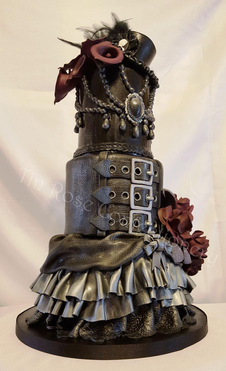 Victorian Steampunk Birthday Cake Cakecentral Com