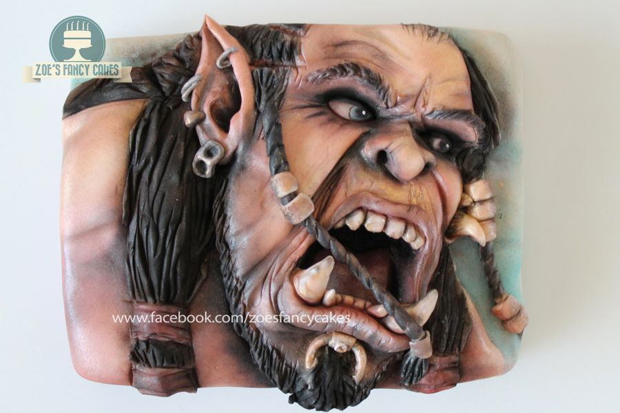 Warcraft Movie Cake :) on Cake Central