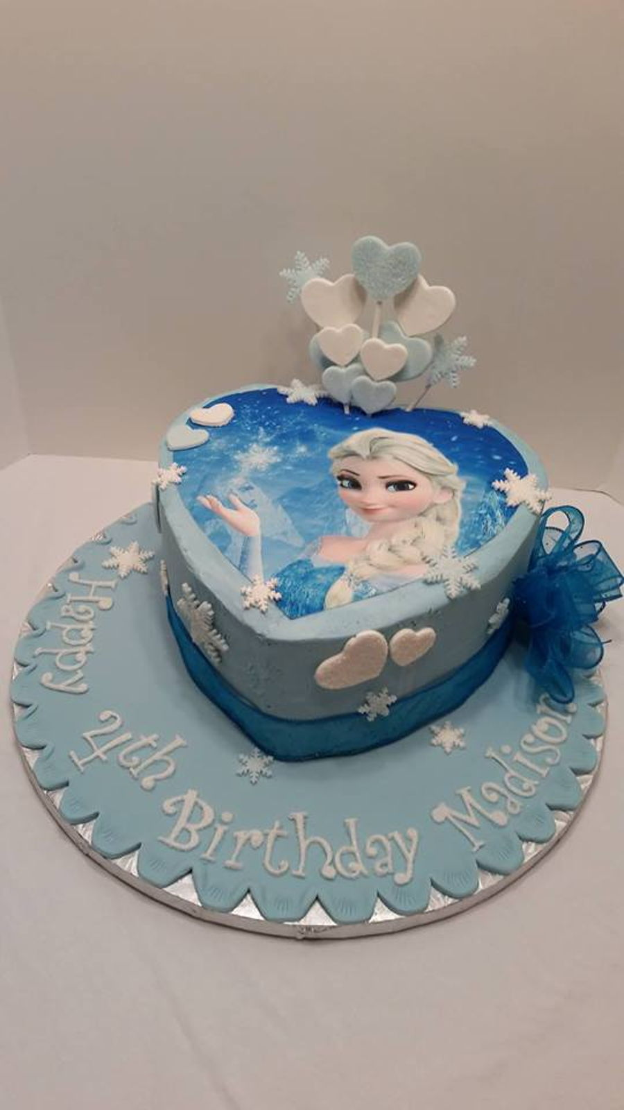 We Love Elsa on Cake Central