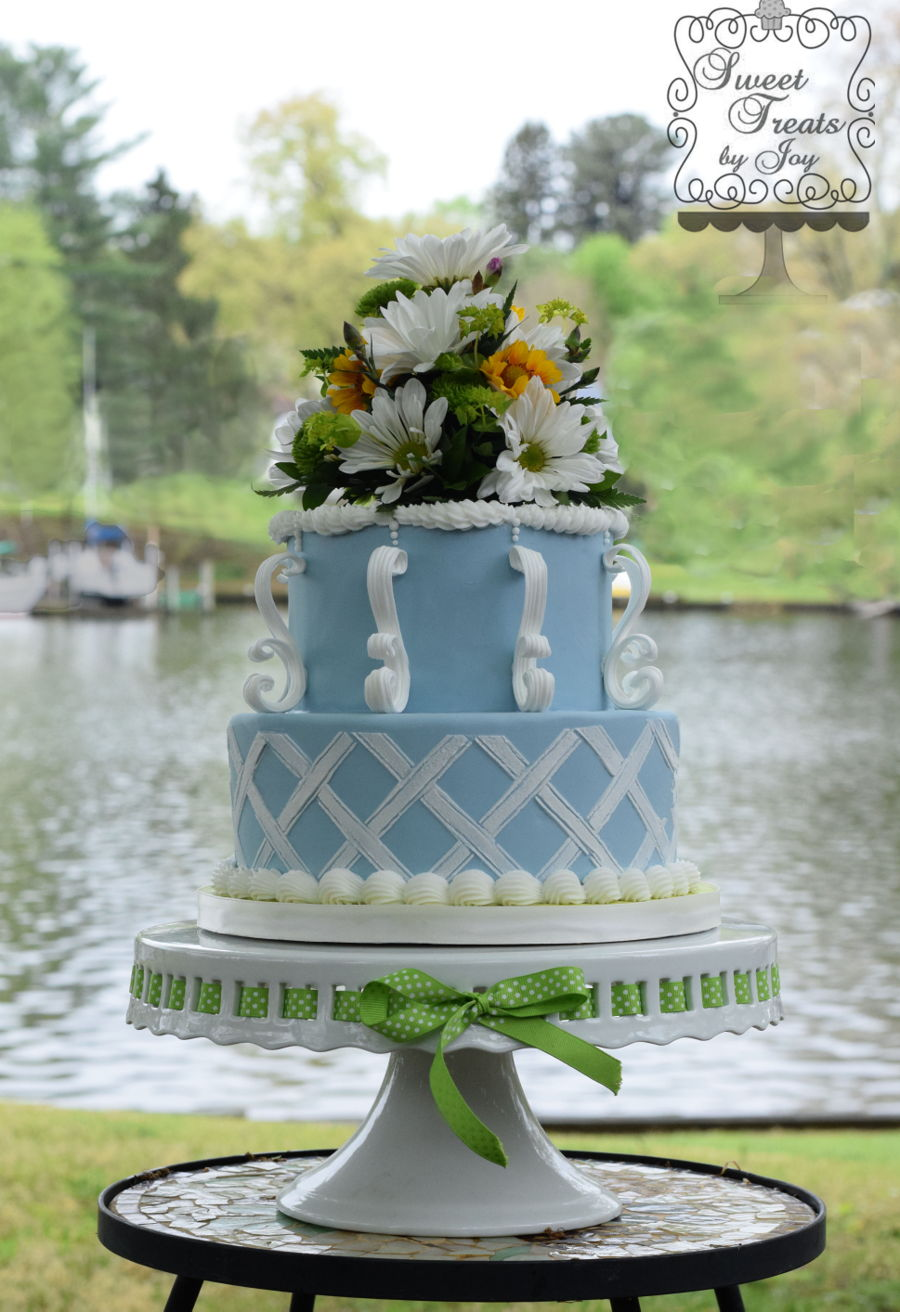 Wedgewood Garden on Cake Central