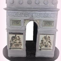 3D Arc De Triumph Paris 3D Arc de Triumph Paris Cake