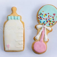 Baby Shower Cookies Made these for a friend who was having her first wee baby. My apologies, I can't remember whose photo I got the inspiration from as I...