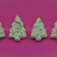 Christmas Tree Cookies Royal Icing Christmas Trees