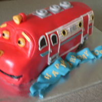 Chuggington A chuggington cake for my sons birthday