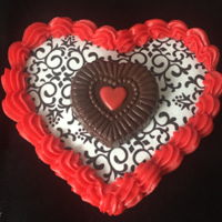 Cinnamon Sweet Shoppe Heart Cookie   Tutorial can be found at