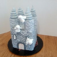 Cute Castle For a 1st birthday.
