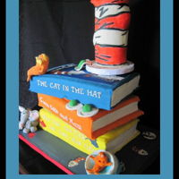 Dr Seuss Book Cakes Book cakes for a baby shower