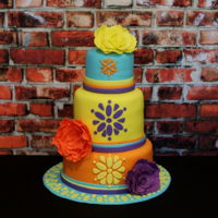 Fiesta Cake For a fiesta birthday celebration