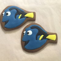 Finding Dory Cookies   Tutorial is at