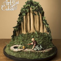 """frog Prince"": Rackham Illustration Cake ""Frog Prince"": Rackham Illustration Cake -8/18/13 - Here it is! Awhile back I was invited by CakeCentral.com to participate in a..."