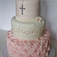 Girls Communion Cake Communion Cake