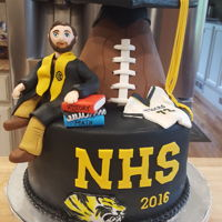 Graduation Cake High school graduation cake