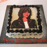Joan Jett All buttercream